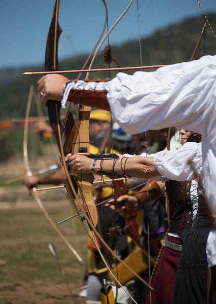 Tirada Medieval - Arquers de Mallorca