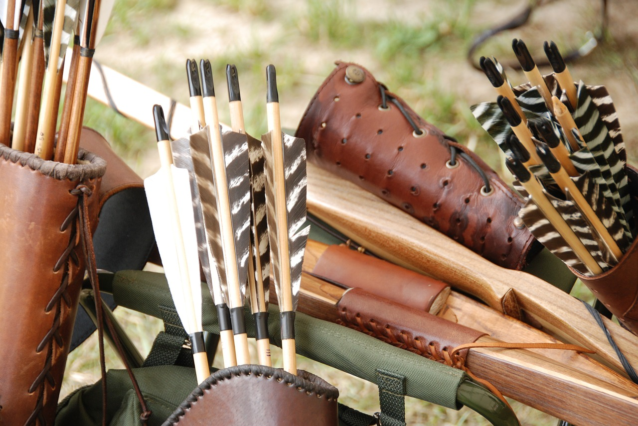 tiro con arco tradicional instintivo